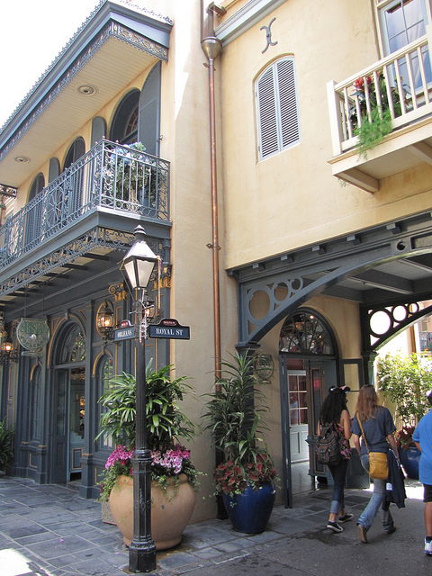 New Orleans Square in Disney World. Photo by Wendi Dunlap.
