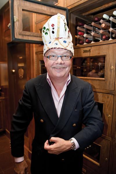 Patrick van Hoorebeek of Patrick's Bar Vin. Photo by Elsa Hahne.
