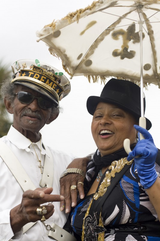 Uncle Lionel Batiste at Mardi Gras