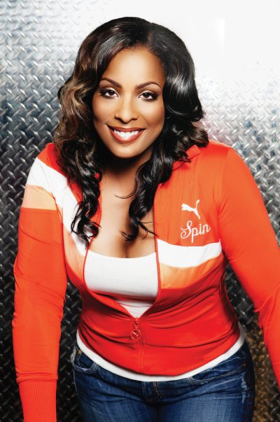 DJ Spinderella of Salt-N-Pepa.