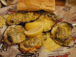 Drago's Seafood Restaurant's Chargrilled Oysters. Photo by lulun & kame.