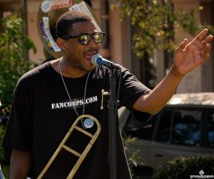 Glen David Andrews Charged with Murder. Photo by Aaron Lafont