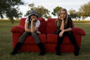 The Wooden Wings' Cherie LeJeune (Left) and Molly Portier (Right)