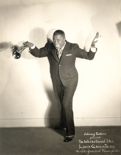 Louis Armstrong. Photo courtesy of Louis Armstrong House Museum.