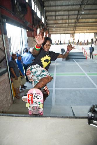 Lil-Wayne DEWeezy Project Skatepark photo by Elsa Hahne