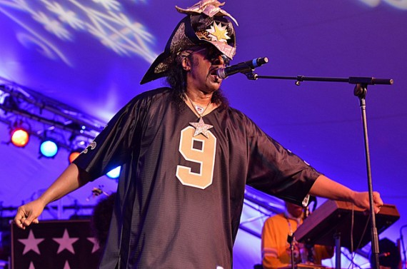 Bootsy Collins, Voodoo Music Experience 2012, Kim Welsh, photo