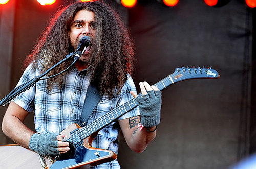 Coheed and Cambria, Voodoo Music Experience, Kim Welsh, photo