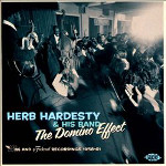 Herb Hardesty and His Band, The Domino Effect, album cover