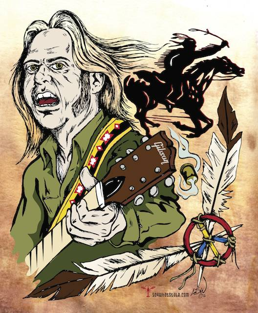 Neil Young and Crazy Horse, L. Steve Williams, Illustration