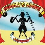 Diablo's Horns, Burnin'!, album cover