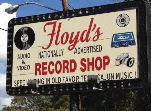 Floyd's Record Shop, photo