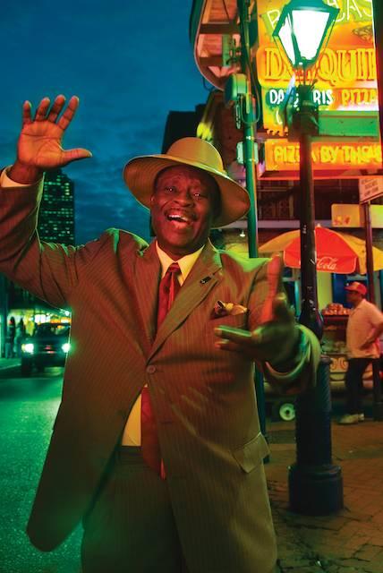 "Al ""Carnival Time"" Johnson, photo Greg Miles"