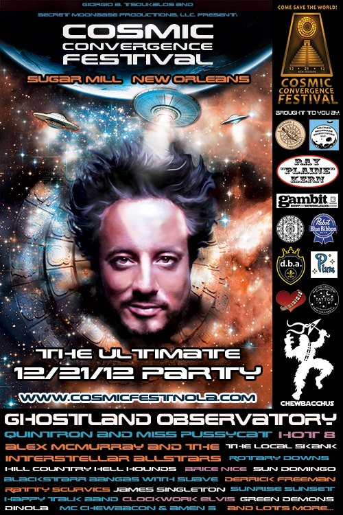 Cosmic Convergence Festival 2012 Poster