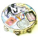 Decoupage Tambourine