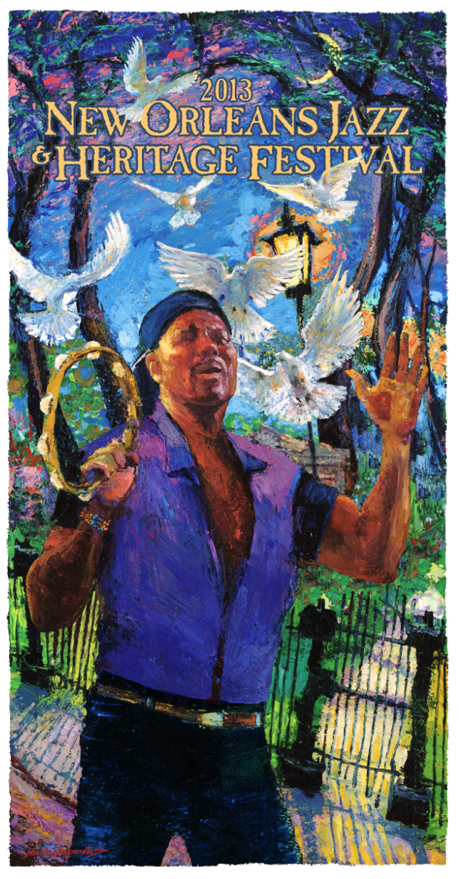 2013 Jazz Fest and Congo Square Posters Released