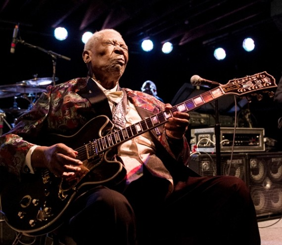 B.B. King, Tipitina's, Elsa Hahne photo