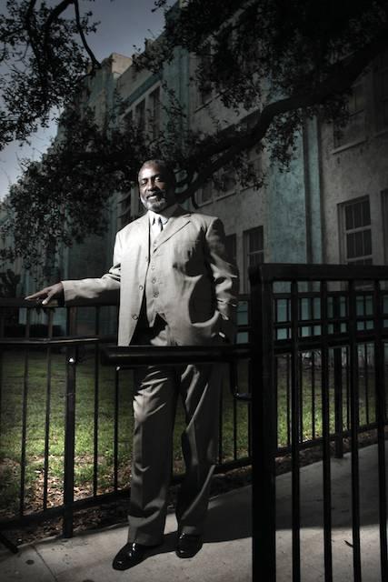 Big Chief Tyrone Casby, Aubrey Edwards, photo