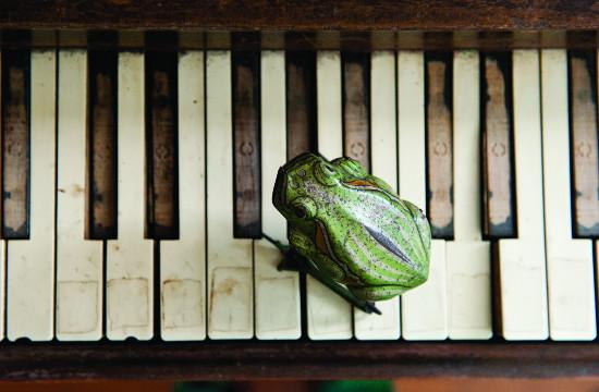 "Clarence ""Frogman"" Henry, piano, Elsa Hahne, photo"
