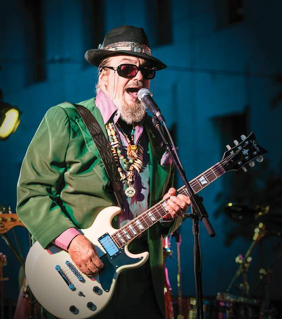 Dr. John, Golden Richard III, photo, guitar