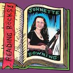 Johnette Downing, Reading Rocks, Album Cover