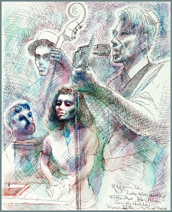 Luke Winslow-King, Emilie Rhys, illustration