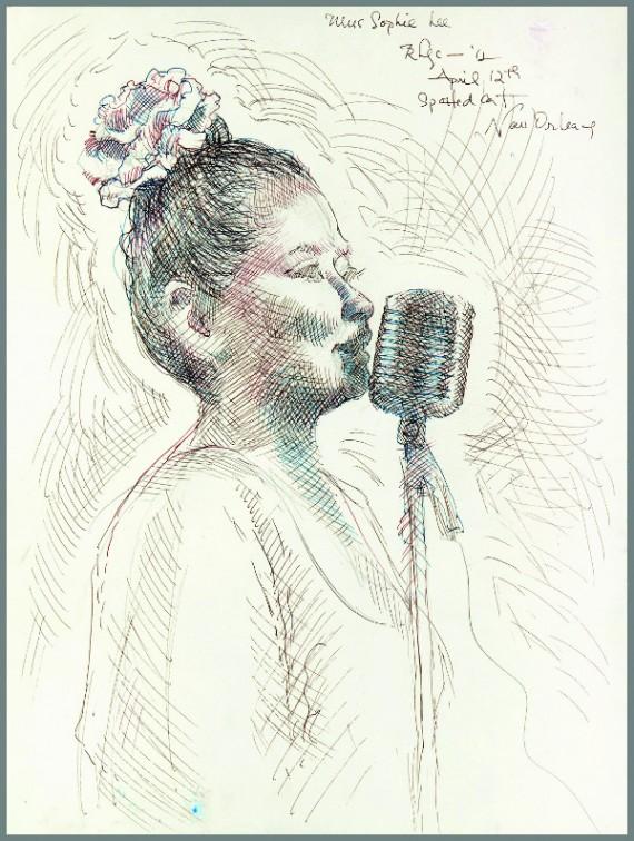 Miss Sophie Lee, Spotted Cat, Emilie Rhys, illustration