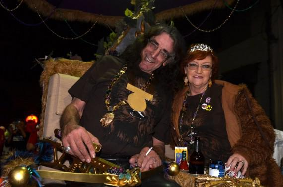 Peter Mayhew, Chewbacca, Krewe of Chewbacchus, Mardi Gras 2013, Kim Welsh, photo
