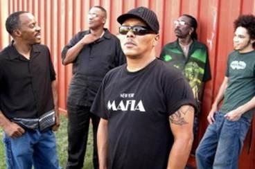 Dumpstaphunk, press photo, OffBeat Magazine