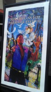 Official Jazz Fest 2013 Poster ft. Aaron Neville
