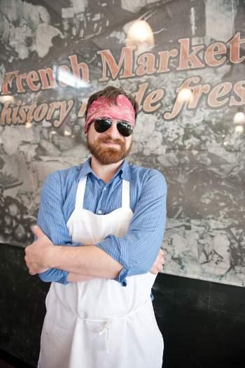 Chef Paul Artigues, photo, Elsa Hahne
