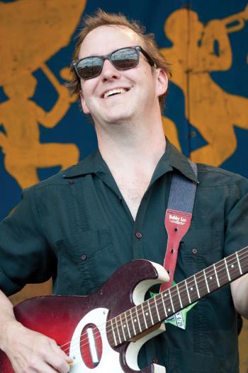 Alex McMurray, Jazz Fest photo, Jeffrey Dupuis