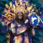 Big Chief Monk Boudreaux, Jazz Fest photo, Erika Goldring