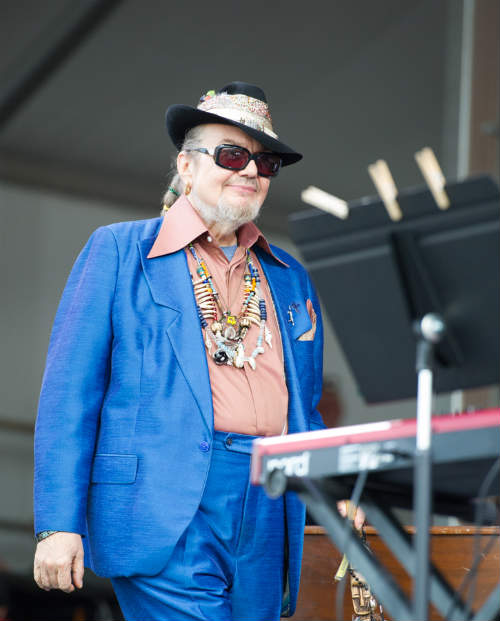 Dr. John, Jazz Fest, 2013, photo, Elsa Hahne, Golden Richard, April 26