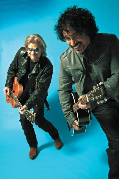 Hall and Oates, press photo, Mick Rock