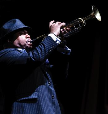 Nicholas Payton, Jazz Fest photo, Golden Richard III