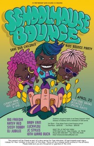 Schoolhouse Bounce 2013 flyer