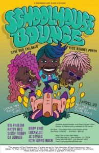 Schoolhouse Bounce 2013 flyer