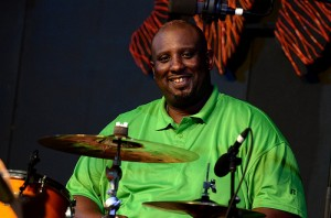 Gerald French at Jazz Fest 2013 by Kim welsh