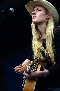Holly Williams at Jazz Fest 2013 by Kim Welsh