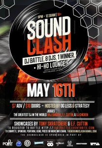 soundCLASH May 16 2013 DJ Battle