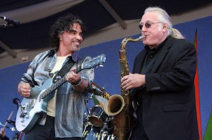 Oates and Dechant at Jazz Fest 2013 by Earl Perry