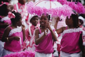 Original Big 7 SAPC Mothers Day Second Line 2013 by Abdul Aziz - pink girls
