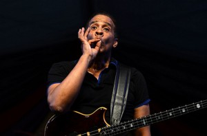 Stanley Clarke at Jazz Fest 2013 by Kim Welsh