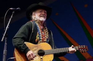 Willie Nelson at Jazz Fest 2013 by Kim Welsh