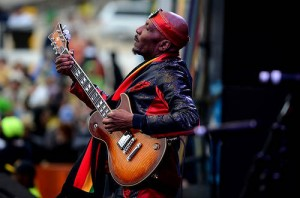 Jimmy Cliff at Jazz Fest 2013 by Kim Welsh