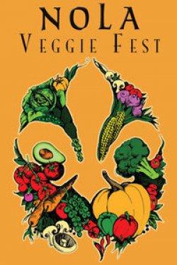 NOLA Veggie Fest poster