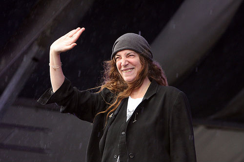 Patti Smith, Jazz Fest, 2013, Earl Perry, photo