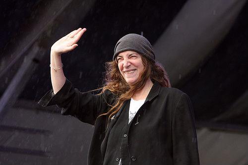 Patti Smith, Jazz Fest, 2013, Earl Perry, photo