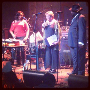 Soul Sister and Susan Guidry with George Clinton