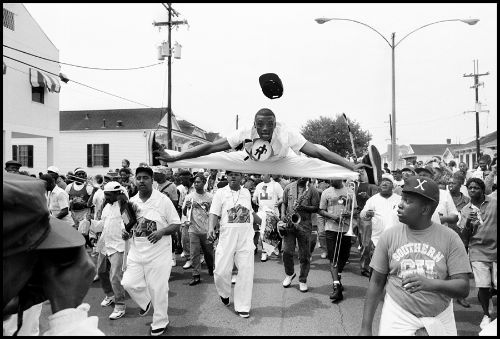Squirky Man, second line, photo, Eric Waters